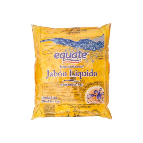 Jabon Equate Liquido Antibacterial Burbuja - 240ml
