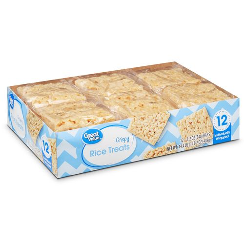 12 Pack Rice Great Value Treat