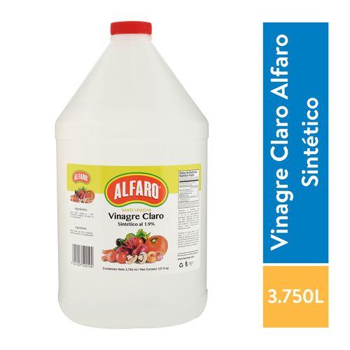 Vinagre Alfaro Claro - 3750ml