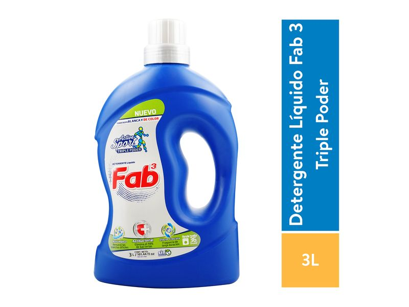 Detergente-Fab3-Antibacterial-Sport-3000ml-1-32722