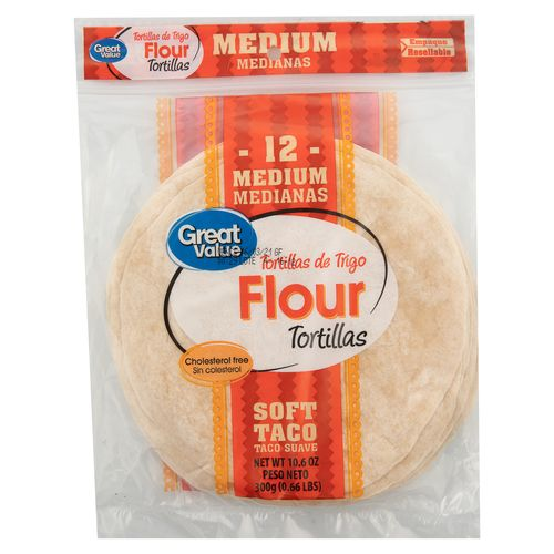 Tortilla De Trigo Gv Taco 300Gr
