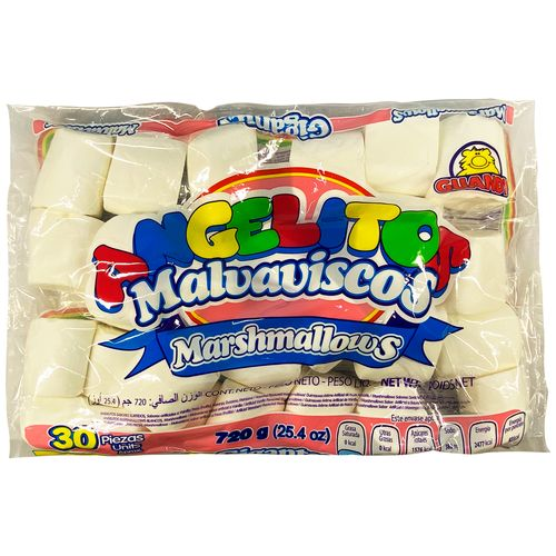 Marshmallows Guandy Blancos Bolsa - 720gr