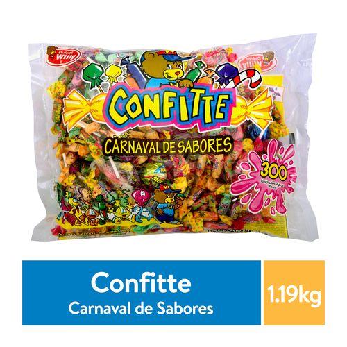 Dulces Willy - Carnaval De Sabores - 1190Gr