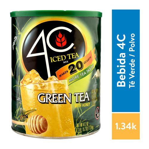 Bebida 4C En Polvo Iced Mix Green - 1340gr