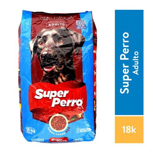 Alimento Super Perro Barbacoa 18Kg