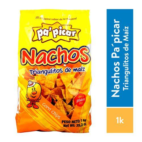 Tortilla P'picar Tostada Triangulo Nachos - 1000gr