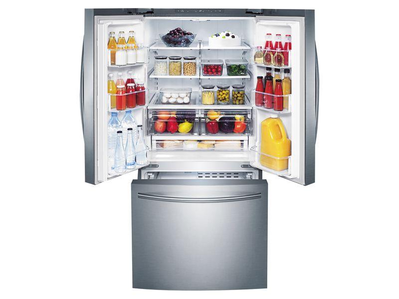 Refrigerador-Samsung-French-D-Silver-22P-6-56232