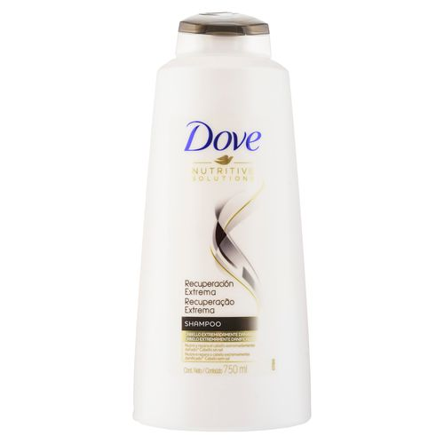 Shampoo Dove Recuperacion Extrema 750Ml