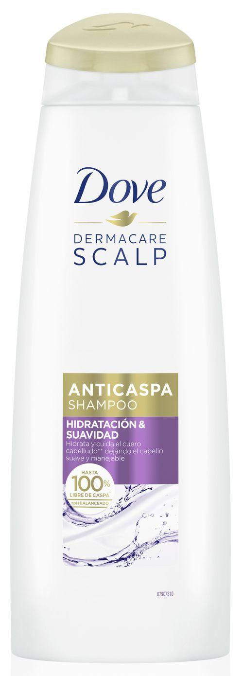 Shampoo Dove Anticaspa Hidratacion Y Suavidad 355Ml