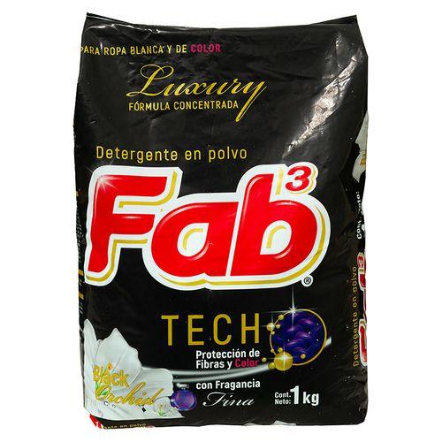 Detergente Fab Luxury Negro 1000Gr