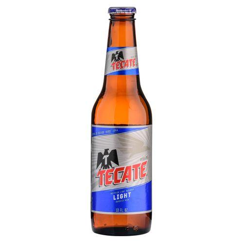 Cerveza Tecate Light Botella - 330ml