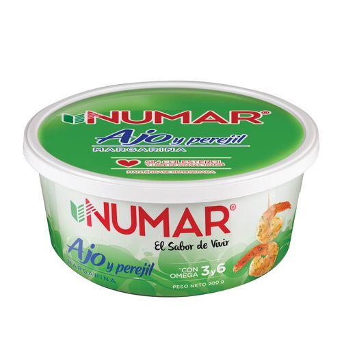 Margarina Numar Ajo Con Perejil - 200Gr