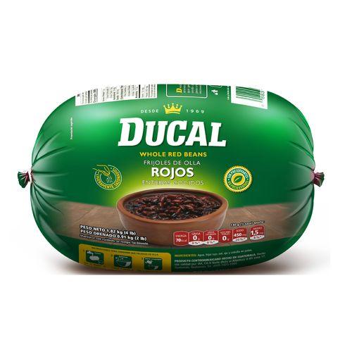 Ducal Frijol Entero De Olla Rojo 1820Gr