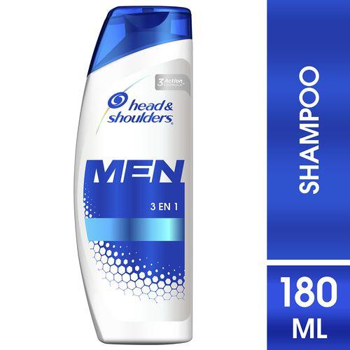Shampoo Head & Shoulders 3En1 Men - 180Ml