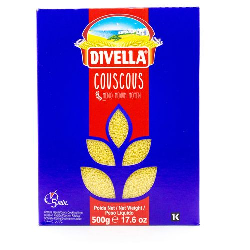Couscous Divella Trigo Caja - 500gr