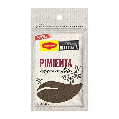 MAGGI® De La Huerta Pimienta Negra Bolsa Resellable 20g