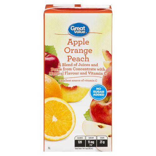 Jugo Great Value Naranja Mango - 1000ml