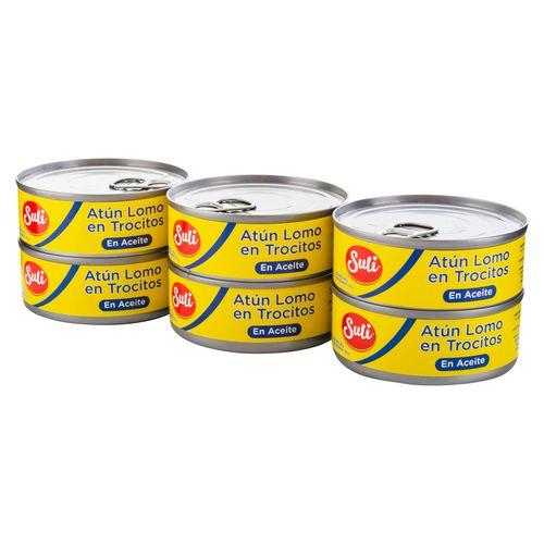 6 Pack Atun Trocitos En Aceite - 840gr