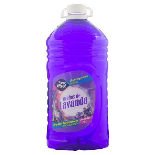 Desinfectante Supermax Lavanda 5000Ml