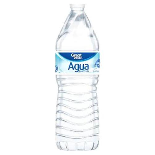 Agua Purificada Great Value Botella - 1000 ml