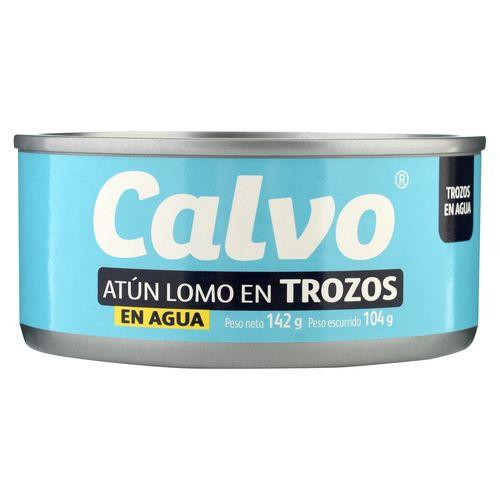 6 Pack Atun Calvo Agua - 142gr
