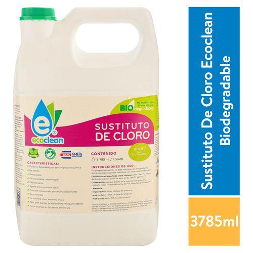 Sustituto Ecoclean De Cloro Biodegradable - 3785ml