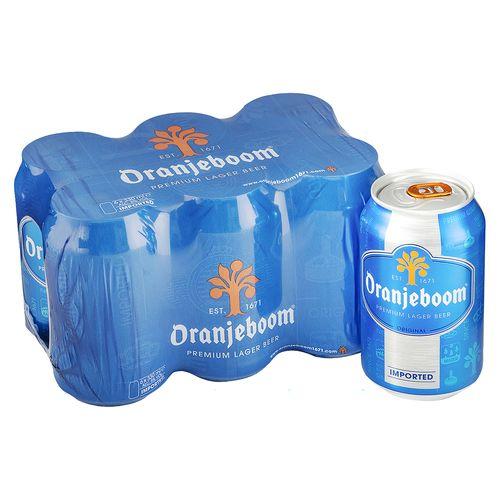 6Pack Cerveza Oranjeboom Lager Lata - 1980ml