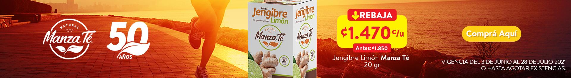 Manza Te Jengibre